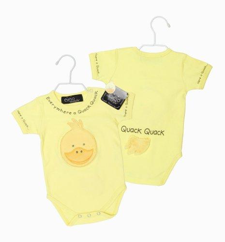 Mud Pie Baby EIEIO Duck Bodysuit