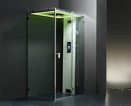 Cabina ducha Hammam archipiélago cristal® 120d: Amazon.es: Bricolaje y herramientas