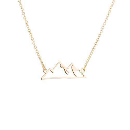 Outline Pendant Necklace - 8