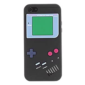Retro Gamepad Style Silicone Soft Case for iPhone 5C (Assorted Colors) --- COLOR:Rose