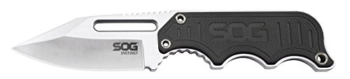 SOG Specialty Knives & Tools Instinct Compact Fixed Blade Knife, 2.3 inch Blade