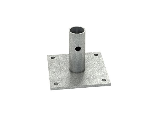Bon 14-284 6-Inch by 6-Inch Scaffold Base Plate (Plate Base 6 Inch)
