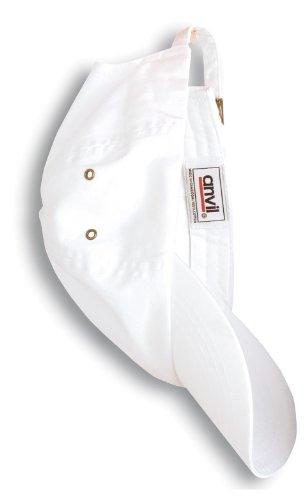 Anvil Twill 6-Panel Low-Profile Cap. 156 - White