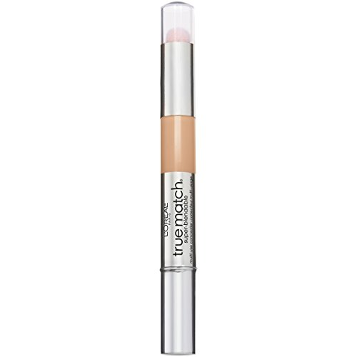 LOreal Paris Cosmetics True Match Super-Blendable Multi-Use Concealer Makeup, Light N3-4, 0.05 Fluid Ounce