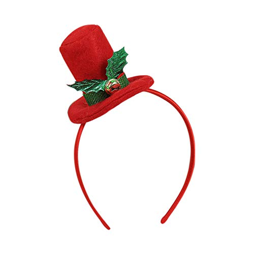 (Christmas Hot Sale!!!Kacowpper Christmas Headwear, Hair Hoop Cute Headband Xmas Holiday Party,Cosplay and Masquerade Hair Accessory Supplies Gifts)