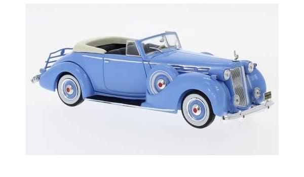 Amazon com: Packard Victoria Convertible, Light Blue, 1938, Model