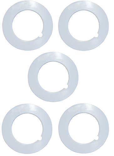 "ZVac 5 Pack of Pipe Collars for Central Vacuums Compatible Replacement for All Central Vacuum Systems with 2"" OD CVac Pipe."