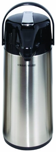 Crestware 3-Liter Glass Lined Airpot by Crestware