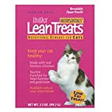 Butler NutriSentials Lean Treats for Cats, 3.5 oz., Resealable Pouch, 10 Pack