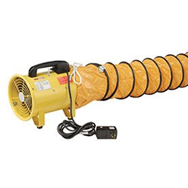 """Portable Ventilation 8"""" Fan With 32' Flexible Ducting"""