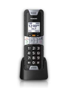 - Panasonic KX-TGTA61B DECT 6.0 Additional Digital Cordless Rugged Handset with Link2Cell (1 Pack)