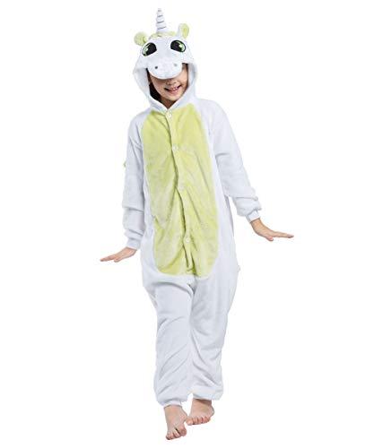 Unisex Pijama Verde Onesie Cosplay Anime Akaayuko Kids Unicornio Traje ZBqEH