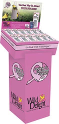 D & D Commodities 382950 36Piece 13 oz 099034 Wild Delight Pink Finch Sock Feeder Display
