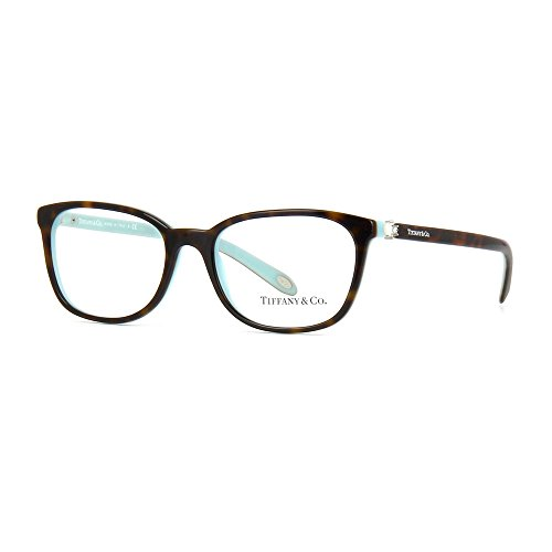 32526dc8ca9d Tiffany   Co TF2109HB - 8134 Eyeglasses Havana Blue Frames 53mm at Amazon  Women s Clothing store