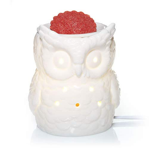 Yankee Candle Everyday Ceramic White Owl Electric Wax Melts Warmer