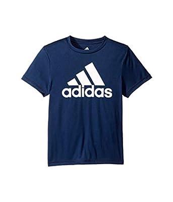 adidas Boys' Stay Dry Climalite Short Sleeve T-Shirt