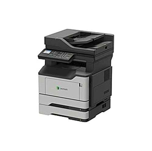 Lexmark MX320 MX321adn Laser Multifunction Printer - Monochrome - Plain Paper Print - Desktop - Copier/Fax/Printer/Scanner - 38 ppm Mono Print - 1200 x 1200 dpi Print - (Certified Refurbished) ()