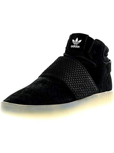 White Strap Black Daim Tubular vin Adidas Invader black Baskets BWH8qgUnv