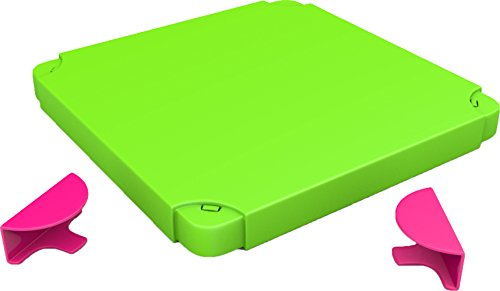 Nv System - Chillafish BOXTOP Pack: Connectable Toy Storage and Play System Top, Lime/Pink