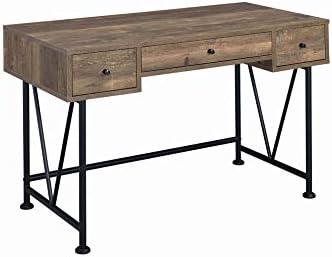 Benjara Traditional Style Wooden Writing Desk