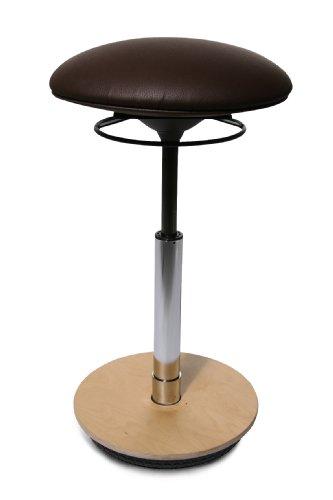 Hocker Büro-Stehhilfe Drehstuhl Schreibtischstuhl Topstar Sitness 27 lila B-Ware