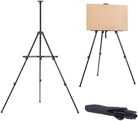 30x71 Tripod Art Display Stand Adjustable Canvas Holder up to 42.5 Wooden Floor Easel Stand for Artist Painting /& Displaying Artwork
