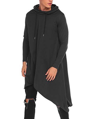 Homme Garçon Maxmoda xxxl Sweats Capuche shirt Automne Sweat Noir Style Street À S qTqwSIgp0