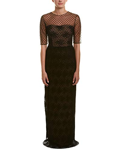 David Meister Womens Gown, 2, Black
