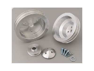 (March Performance 6120 Pulley Set for Small Block Chevy Engine )