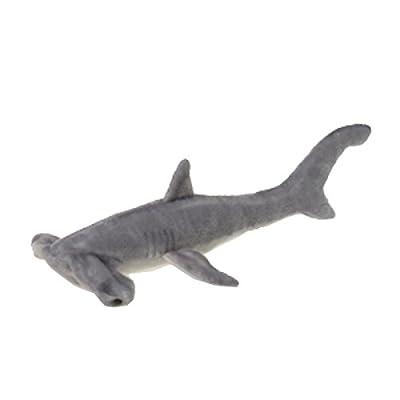 "Hammerhead Shark Plush Stuffed Animal Toy by Fiesta Toys - 16"""