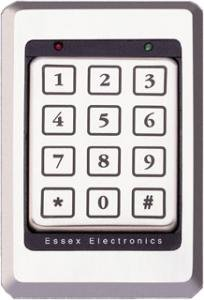 (Essex K1-34S ALL-IN-ONE Reader/Access Controller w/ 12 Pad 3x4 Keypad Only)