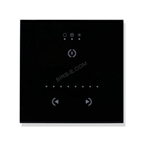 STICK GU2 Black BD Sunlite DMX Wall Mount Interface Controller by Nicolaudie
