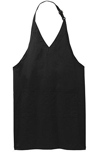 Joe's USA (tm) Upscale Easy Care Tuxedo Aprons with Stain (V-neck Tuxedo Apron)