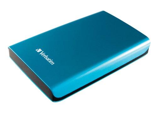 Verbatim 500 GB Store 'n' Go Portable Hard Drive, USB 3.0, Blue 97657