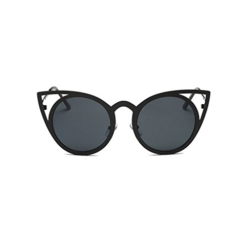 Price comparison product image Squar Sunglasses, Hometom Women Men Big frame Squar Sunglasses Brand Classic (Black02)
