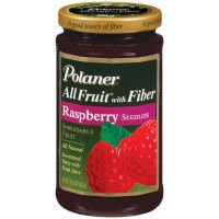 Polaner All Fruit Raspberry Seedless Fruit Spread, 15.25 ()