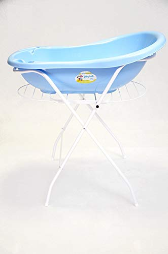 Keeeper Mickey Babywanne 84 cm mit Stöpsel my blue TOP
