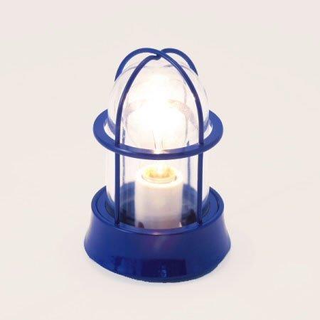 ゴーリキアイランド ガーデンライト【BH1000 NV CL LE】(真鍮青色仕上 クリアーガラス LEDタイプ) B01FH50YGM 25164