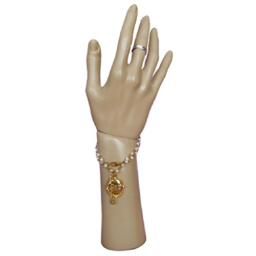 Mchoice Rotatable Mannequin Hand Arm Display Base Female Gloves Jewelry Model (Glove Display)