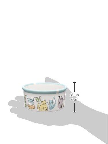 Signature Housewares Cat Town Cat Bowl, Small