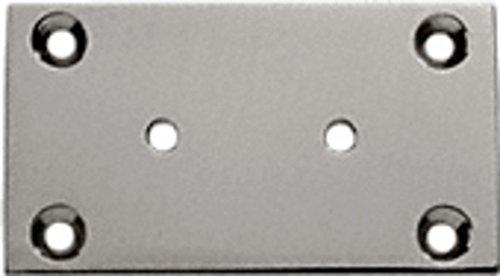 CRL Brushed Nickel Geneva 037 Series Wall Mount Plate