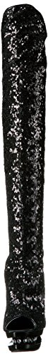 UK Blk 3011 41 8 EU R Blk Sequins BLONDIE Pleaser gqYnFpw