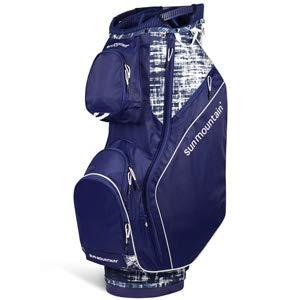 Sun Mountain Golf 2019 Sierra Women Cart Bag - Navy-White-Galaxy