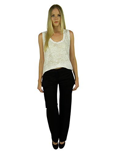 isabel-marant-womens-black-brian-regular-four-pocket-dress-pants-36
