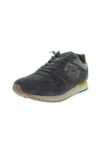 Mesh Lotto Shibuya Leggenda Tokyo Suede Sneakers Uomo Blu Marrone XXtqw