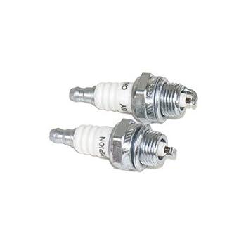 Amazon.com: Kawasaki 92070 – 7003 RCJ8Y Spark Plug: Jardín y ...