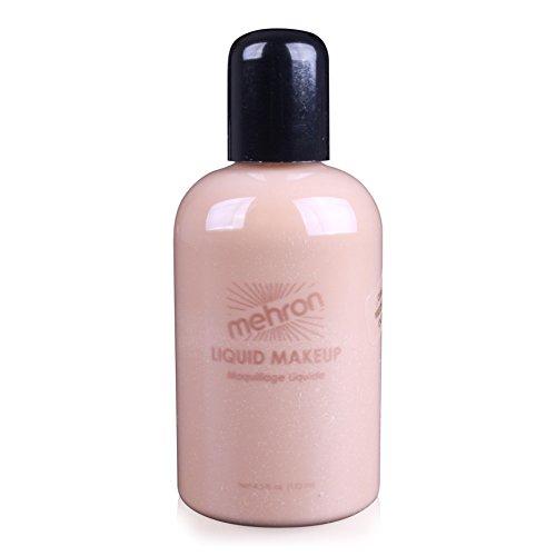 Mehron Makeup Liquid Face and Body Paint (4.5 oz) (MEDIUM (Medium Dark Olive)