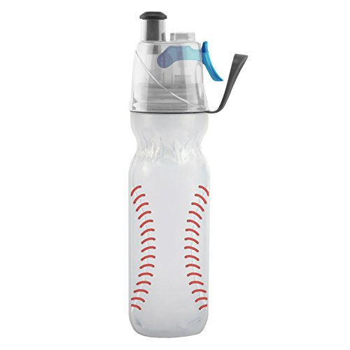 Misting Insulated Water Bottle, Mist 'N Sip Sports Series by O2COOL, 20 oz
