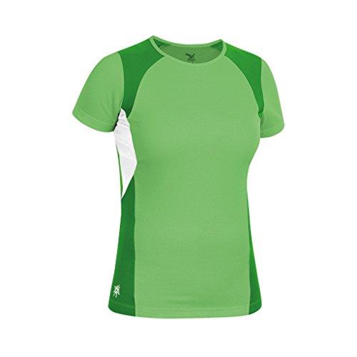 Camiseta Mikeno Salewa Dry hellgrün Para Verde Mujer Ufqavwn