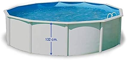 TOI - Piscina MAGNUM COMPACTA CIRCULAR 550x132 cm Filtro 3,6 m³/h